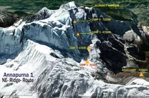 To Annapurna (8.091μ) επόμενος στόχος του Α. Συκάρη την άνοιξη του 2020!